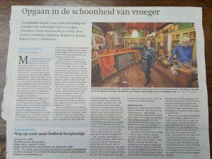 Friesch Dagblad interview